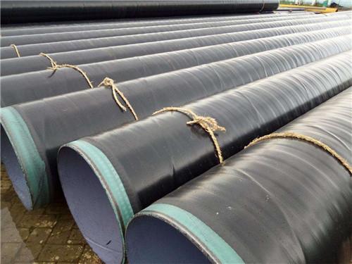 3LPE防腐螺旋管_大量供应高性价内外涂塑复合钢管