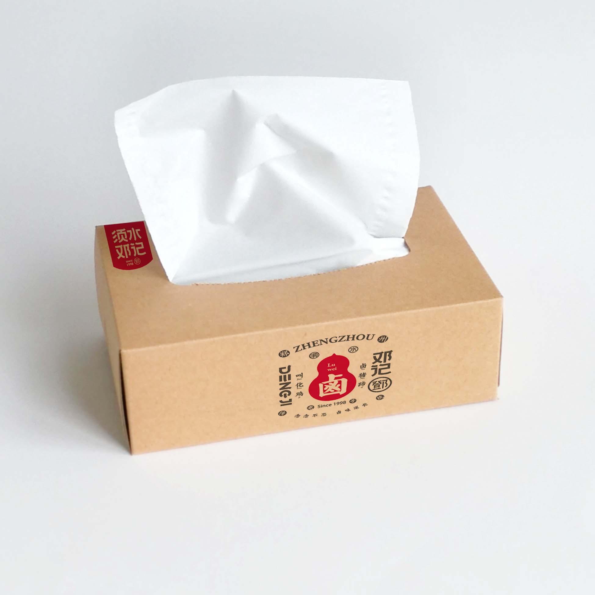 廣告盒抽紙巾哪家買?四川廣告禮品紙巾廠家@華豐紙品廠