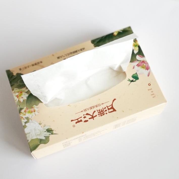 成都华丰纸品◎厂供应同行中出色的广告☆礼品纸巾 四川广告盒抽纸∏巾