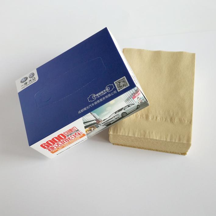 成都促销礼品纸巾推荐180*8484*2075 广告抽纸定制