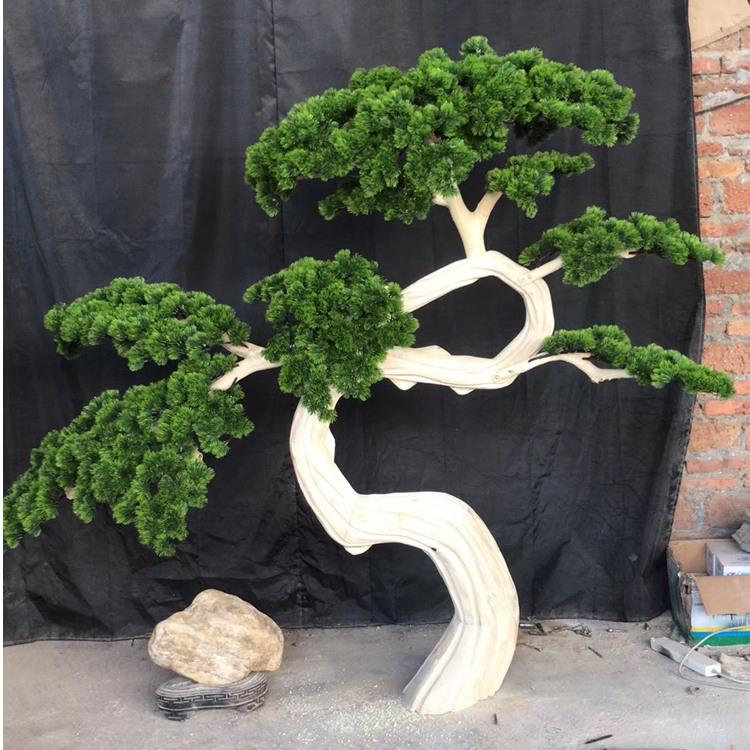 仿真迎客松圖片_廣州款式精美的仿真松樹哪里可以買到