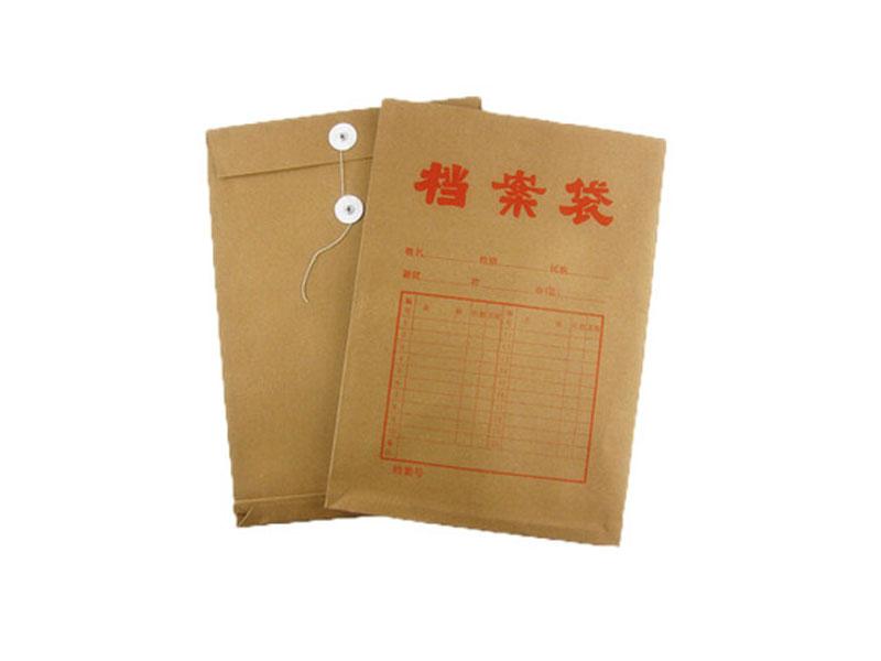白花景区档案袋-裕鑫纸品提供品牌好的档案袋