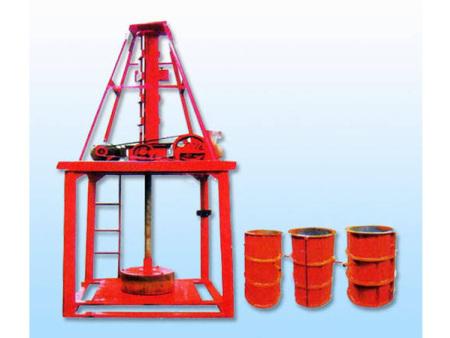 立式水泥制管機