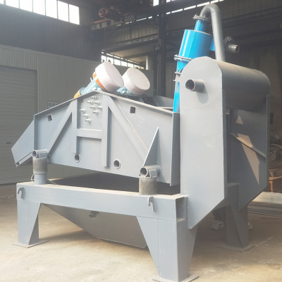 細砂回收一體機的工作原理