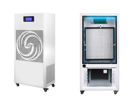 浅议利安达空气净化消毒机拦截病毒气溶胶的可行性