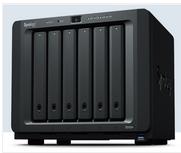 &群晖NAS DS1019+企业5盘位存储服务器 数据备份