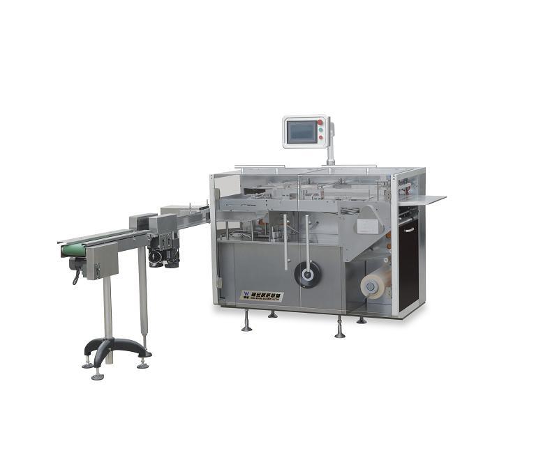 TMB-300D全自动透明膜三维包装机