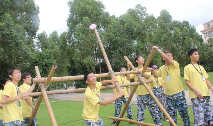 广州拓展罗马炮架-规则注意事项及心得体会-新起点团建活动