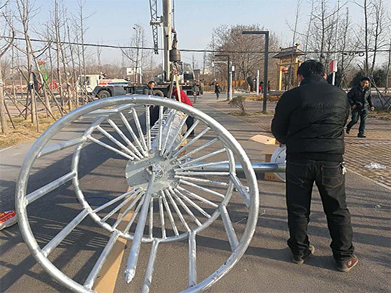 开封监控八棱杆安装-郑州品牌好的监控八棱杆厂家推荐