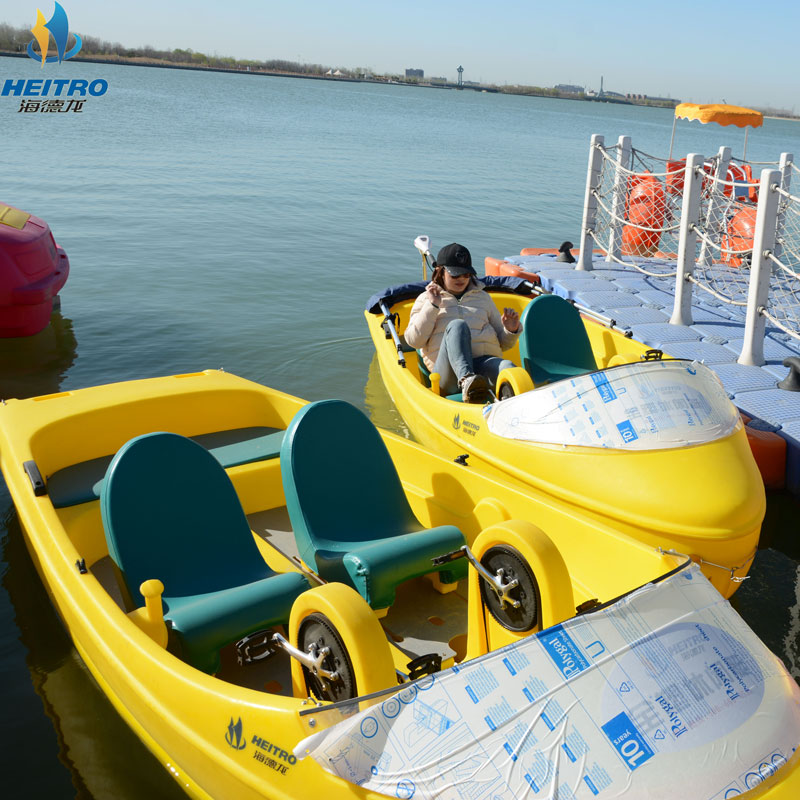 电动船-山东优惠的水上脚踏船