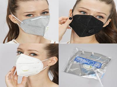 美國FDA認證可出口帶閥門防塵透氣帶呼吸閥口罩批發