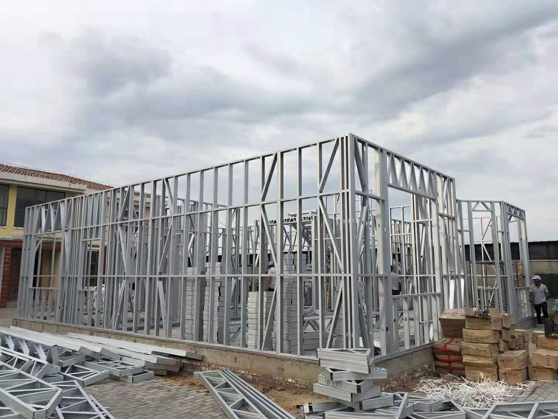 泉州钢结构房屋-轻钢房屋屋面做法-轻钢结构集成房屋