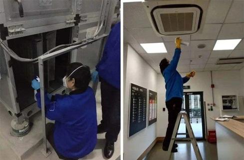 中央空調消毒清洗
