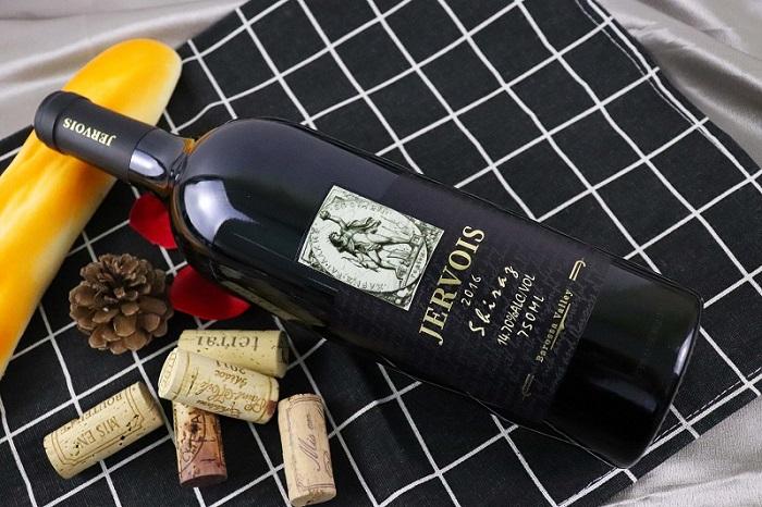 哲維斯赤霞珠西拉干紅葡萄酒