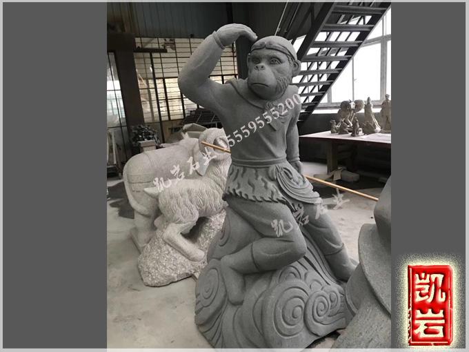 福建石雕-西游记人物石雕雕塑-凯岩石业
