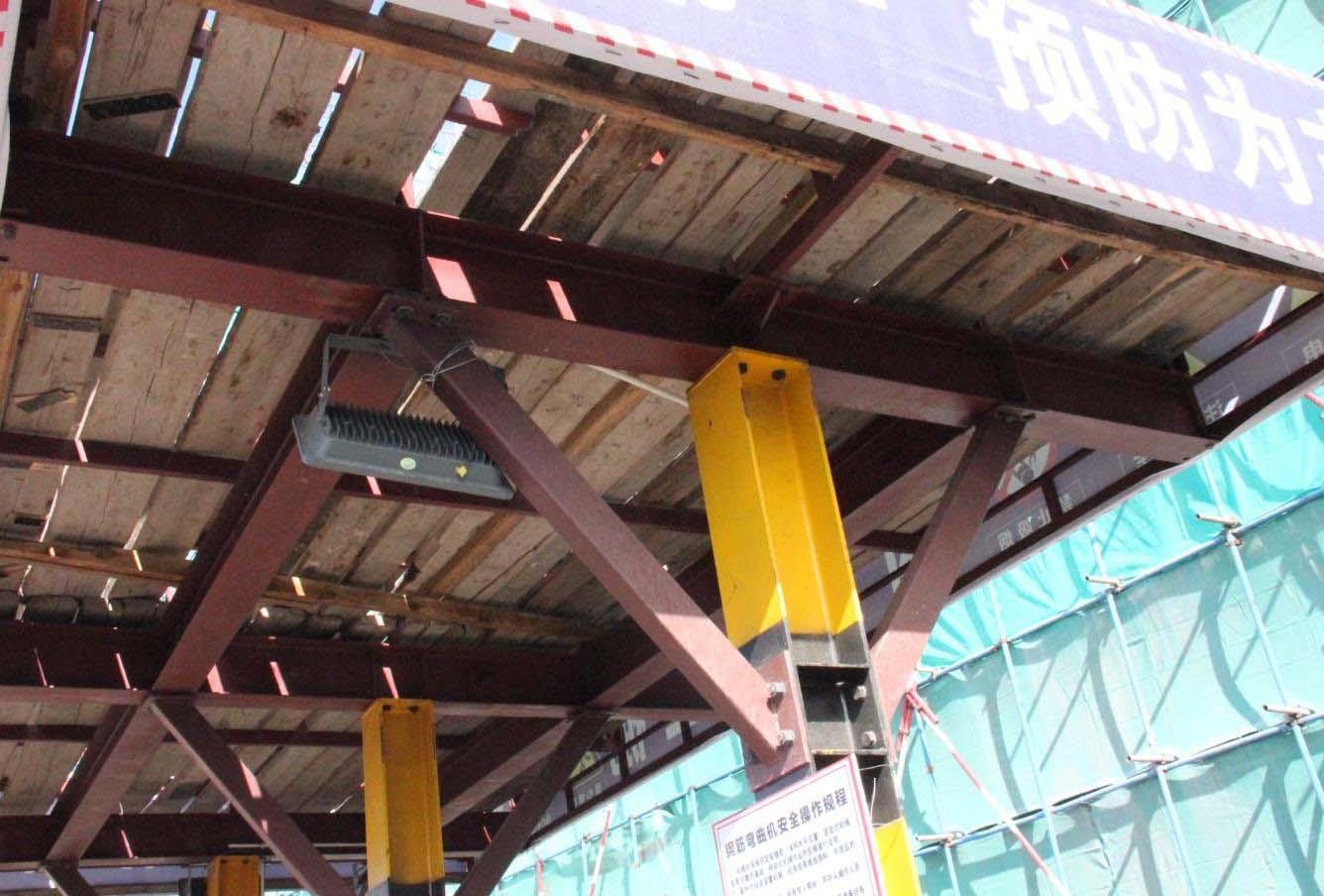 根河防護棚-內蒙古呼倫貝爾鋼結構廠家