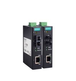 &新品IMC-11智能交通、监控市场专用工业级百兆光纤收发器