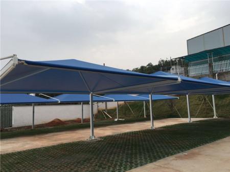 膜结构停车棚发生积水应采取的措施