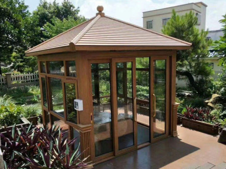 中式铝艺凉亭