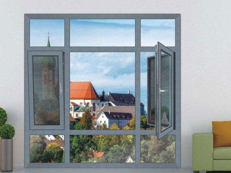 遼寧多道密封鋁合金平開窗_品質好的平開推拉窗哪里買
