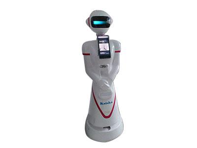 人脸识别体温检测智能机器人