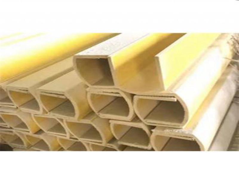 廠家直銷價格防腐玻璃鋼槽鋼/角鋼/圓管/拉擠型材