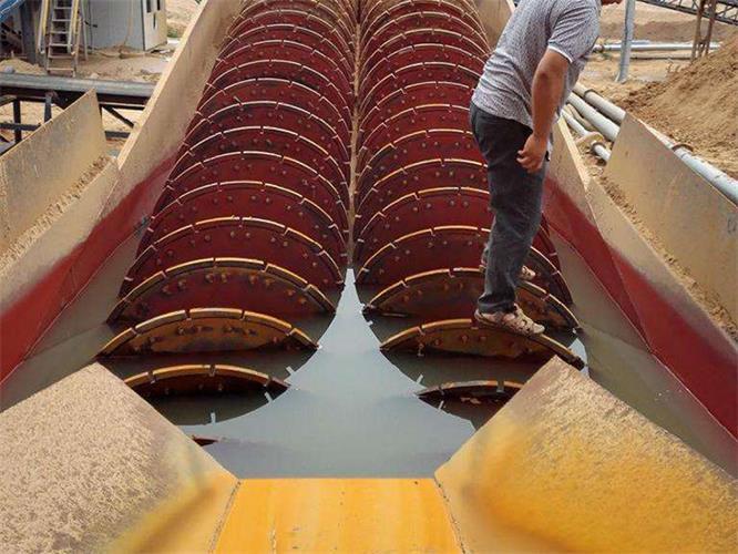 摩天轮洗沙机械生产厂家-为您推荐超实惠的螺旋洗沙机械
