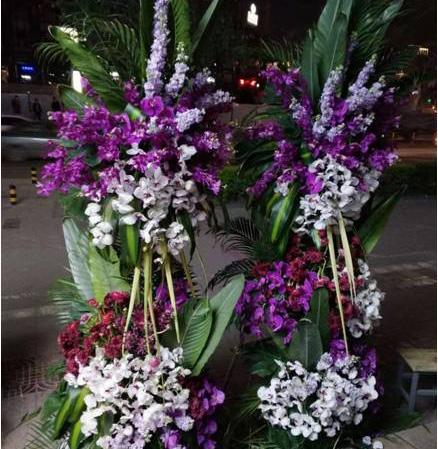 慶典花籃定做-開業花籃哪里有-開業用花哪里有