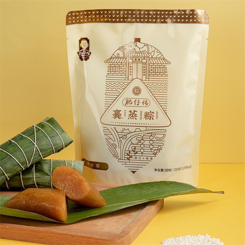 肥仔伟裹蒸粽枧水粽端午粽子