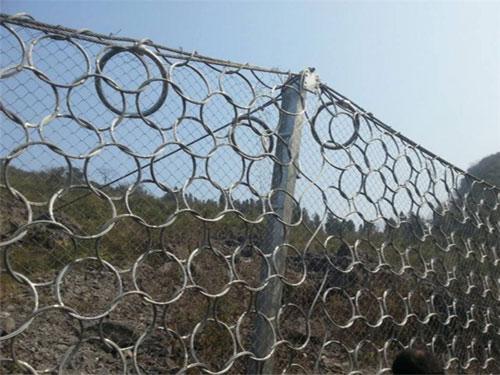 边坡被动柔性防护网-15131856266护坡柔性被动网