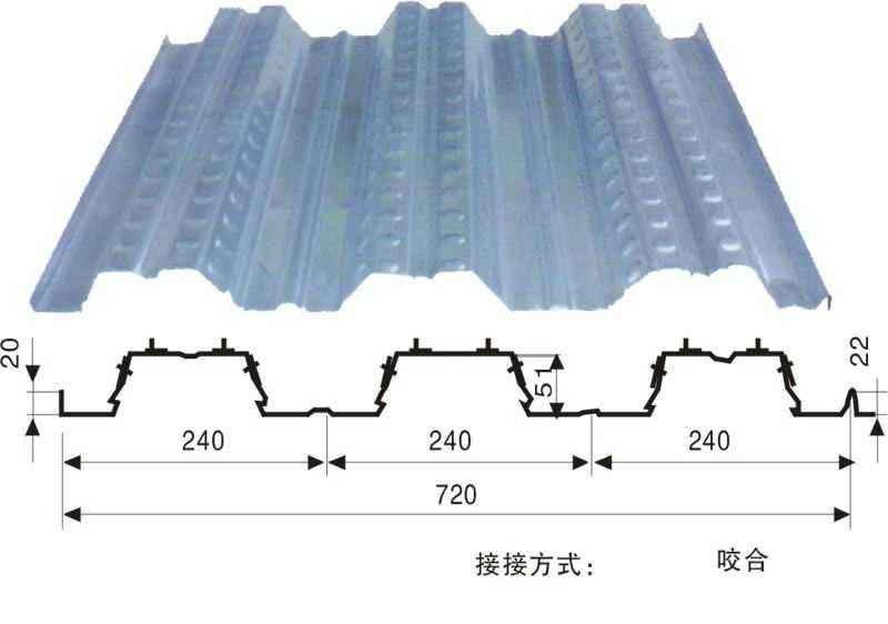 青海楼承板-兰州质量好的楼承板生产厂家