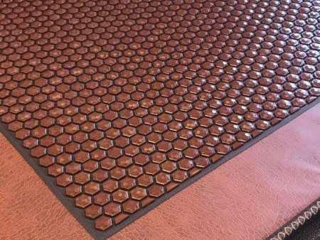 新疆赭石床墊-白山玉石赭石床墊-遼源玉石赭石床墊