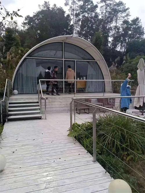 气模建筑酒店帐篷