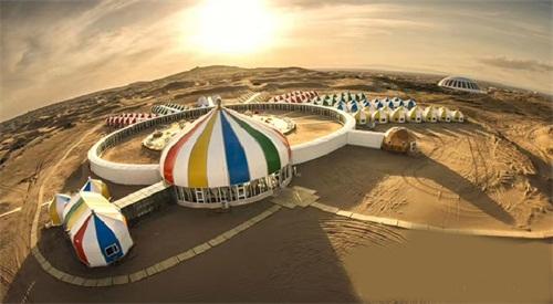 拉膜结构建筑-河南气模建筑酒店帐篷供应