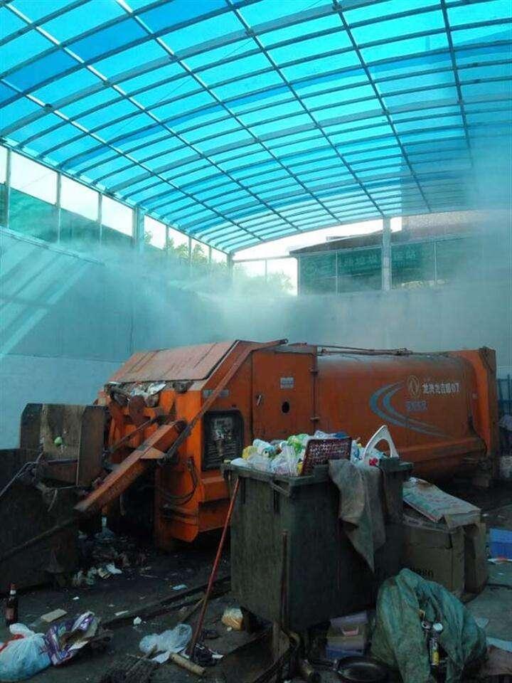 住宅楼垃圾分类除臭-智能雾化空间除臭