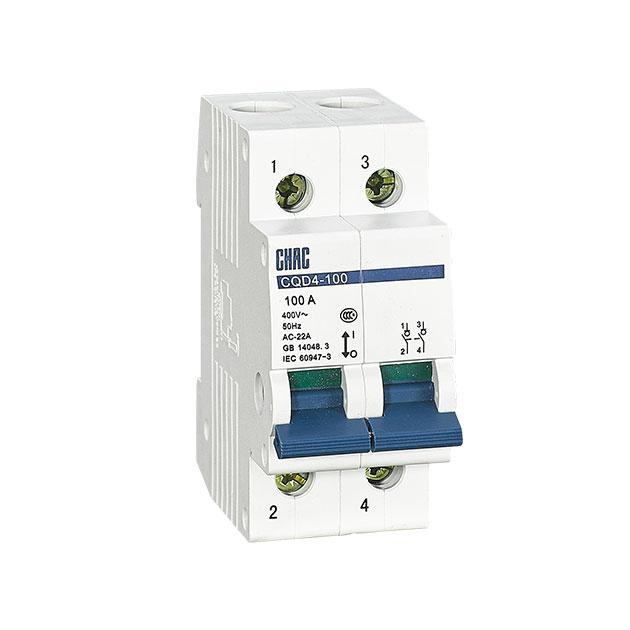 温州小型隔离开关厂家-浙江创奇电气-的CQD4-100-小型隔离开关公司