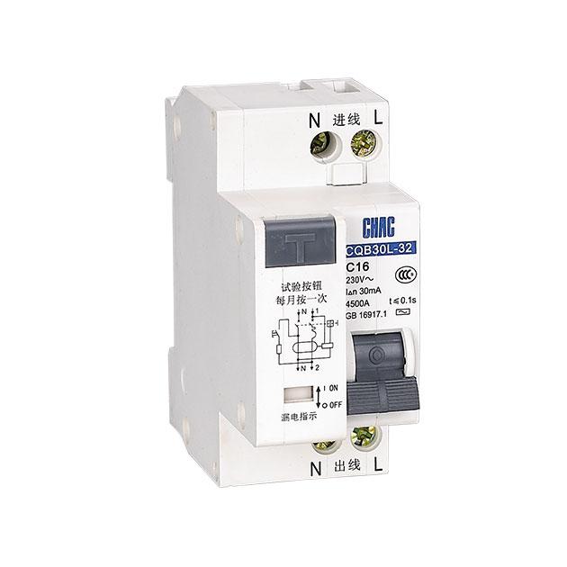 河南电子式断路器_浙江创奇电气提供高性价漏电保护断路器