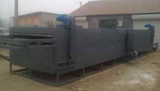 好客来不锈钢豆干烘干机设备食用菌烘干机网带式多层烘干机