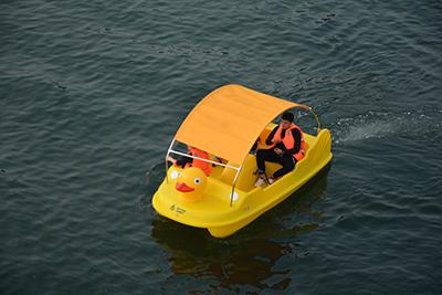 常州电动船-脚踏船当选烟台海德龙
