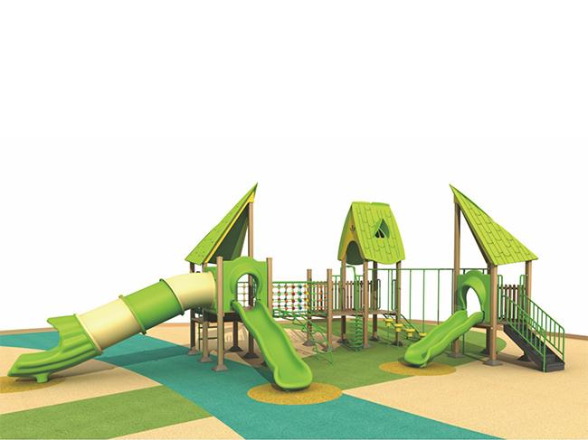 户外塑木组合滑梯定做|划算的塑木组合滑梯就在童博游乐