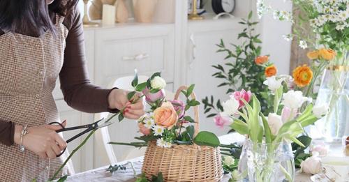 花藝課程-西安花藝沙龍體驗課多少錢-西安花藝沙龍活動多少錢