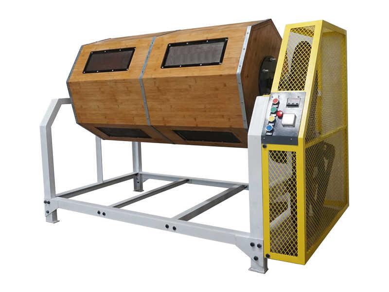 单层滚筒抛光机厂商代理_单层慢速木滚桶机哪家好