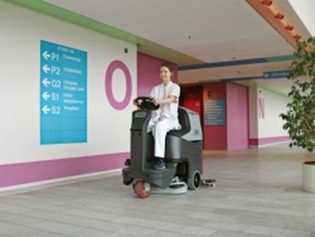 哈爾濱掃地機廠家推薦-哈爾濱手推式洗地機