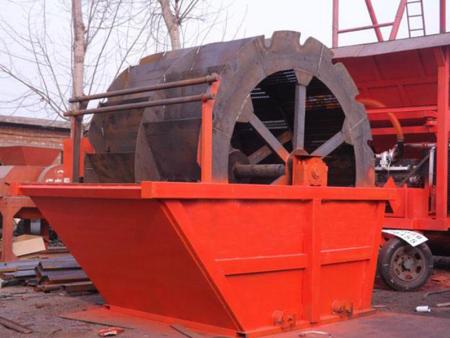 水輪式洗沙機供應商//水洗輪生產廠家