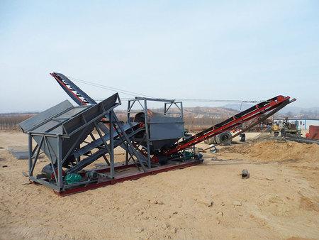 筛沙机生产厂家-临沂筛沙水洗设备多少钱