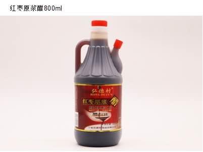 银川食醋-宁夏加禾农业供应报价合理的弘德村红枣醋