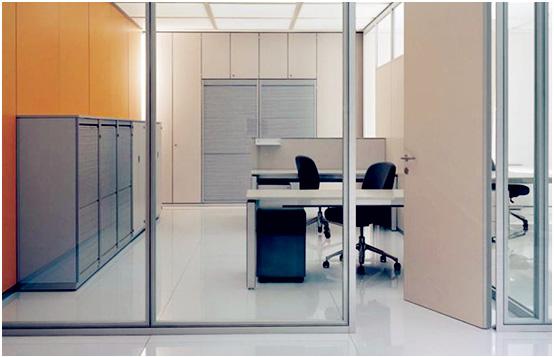 辦公室玻璃隔斷