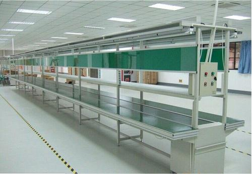 定制PVC流水线输送带 移动升降式皮带输送机 传送带