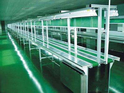 全自動包裝流水線-金屬傳送帶-包裝生產線