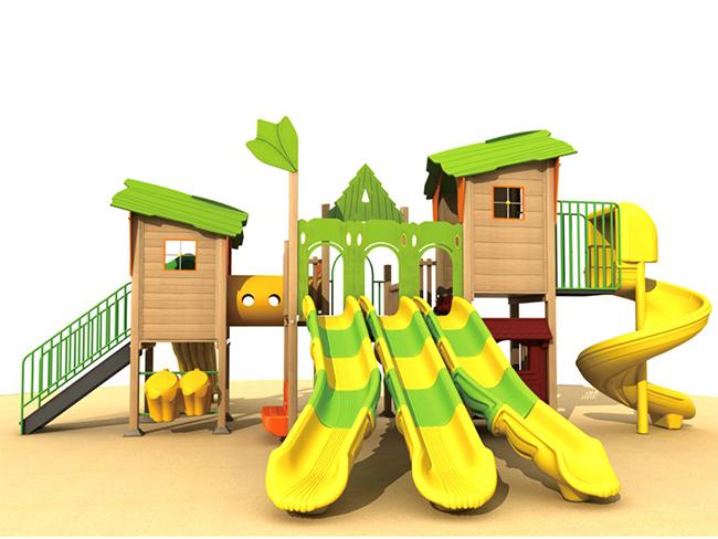 永嘉塑木滑滑梯厂家-户外★塑木组合滑梯在哪里可以买到